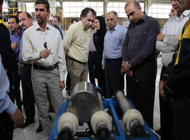 بازديد مديران ارشد مجتمع معدنی و صنعتی گل گهر از مركز تحقيقات و توسعه فرآوری مواد معدنی فكورصنعت تهران