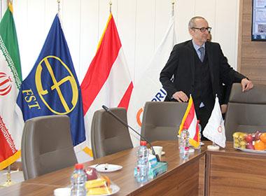 دیدار سفير اتريش با مدير عامل شركت مهندسی فكور صنعت تهران