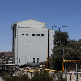 Molybdenum Concentrate Dewatering, Drying, Drum Filling and Copper Removal Plant
