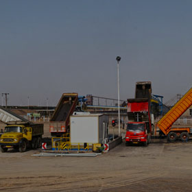 Ardakan Iron Ore Concentrate Truck Unloading Plant