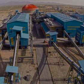 Golgohar 5&6 Lines Iron Ore Concentrate Plant