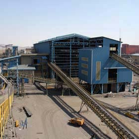 Golgohar Expansion Iron Ore Concentrate Plant