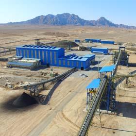 PAYA FOOLAD Co Iron Ore Concentrte Plant