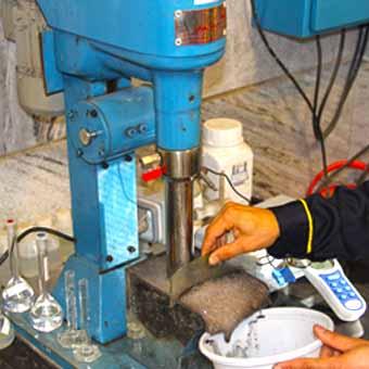 تحقيق و توسعه مركز فرآوری مواد معدنی و متالورژی