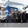 افتتاح خط 7 تولید کنسانتره سنگ آهن شرکت گل گهر با حضور ریاست جمهوری