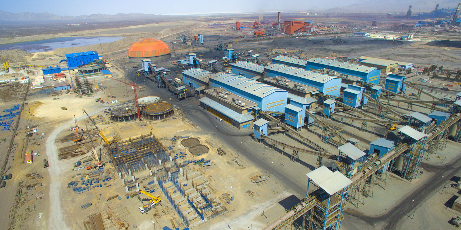 Gol Gohar Iron Ore Concentrate Factory (Lines 5, 6 and 7)
