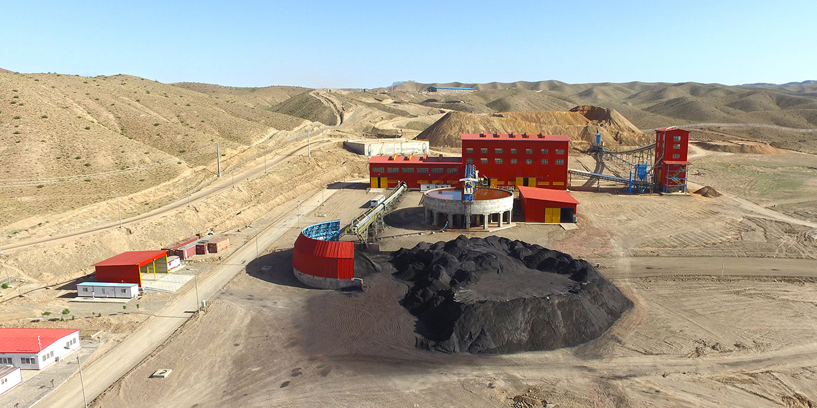 افتتاح واحد آبگیری از باطله مجتمع كنسانتره سنگ آهن فكور صنعت