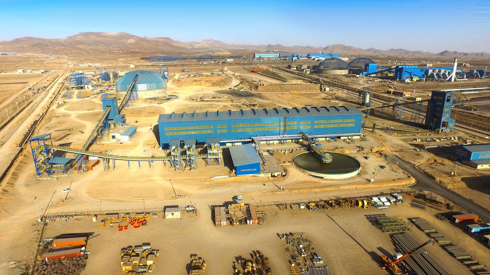 Iron Ore Pelletizing Plant of Sangan Mining Co